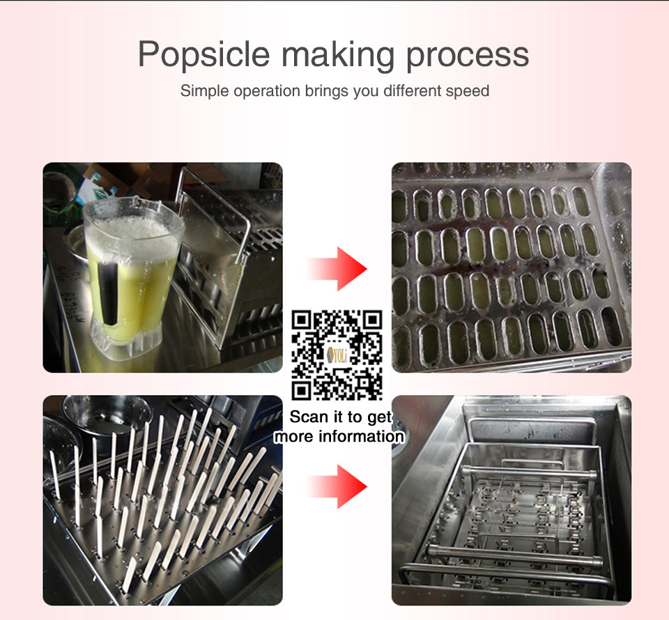 ice popsicle machine,