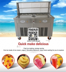 Double Pan Fried Ice Cream Machine A174