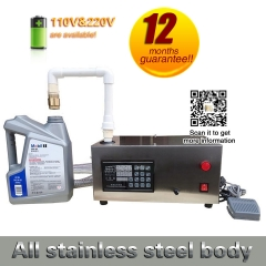 35L liquid quantitative fill machine for oil