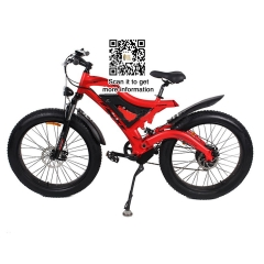 48V 26 inch 7 speed 4.0 fat tire electric bike 750W motor bike