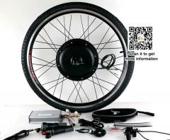 48V-72V 3000w E-Bike Kit 90km/h max speed with 7speed freewheel