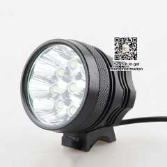 XML-T6 lamp 15 led lights 100w LED Bicycle Light