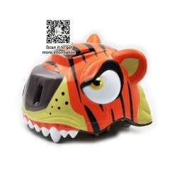 bicycle tiger helmet animal helmet child safety helmet