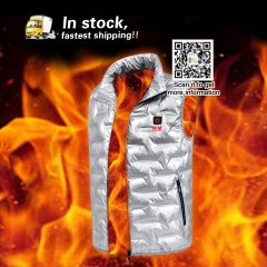 Outdoor battery powered heated jacket