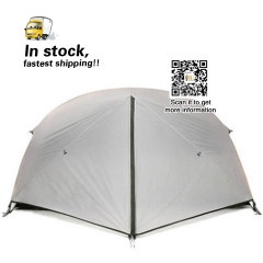2 Person Camping Tent 15D 2 layers Silnylon Ultralight  Tents