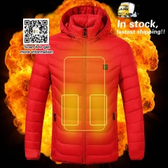 Usb Heated Jacket Heating Winter Clothing FCC/CE