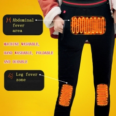 Smart heating clothing fashion leggings women
