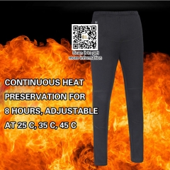Men Women Hiking Heating Warm Pants