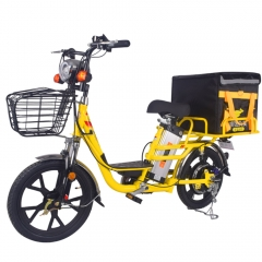 E bike 60v  double battery 350w 18 inch tire delivery electrical bicycle