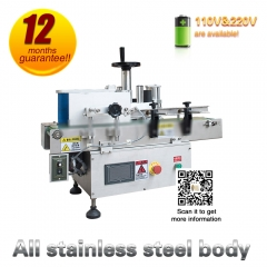 Plastic Glass Bottle Self-Adhesived Sticker Labeling Machine