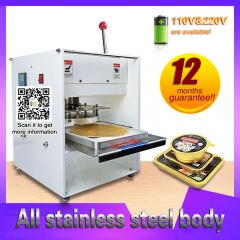 Hand Press Fast food Takeout Box Tray Sealing Machine