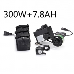 e bike motor kit 300W 48V 7.8A battery bike rear drive