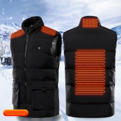 4-zone heating parts heating vest M to 7XL