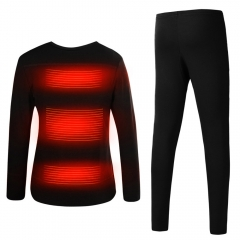 Heating Underwear Set Long Sleeves heated body suit