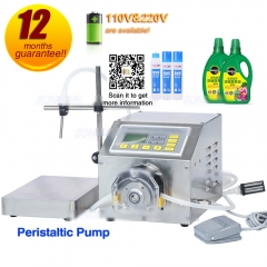 Peristaltic Pump Semi Automatic Liquid Filling Machine